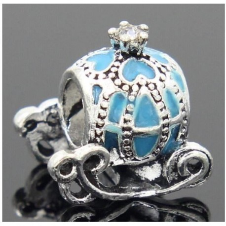 charms carrosse bleu