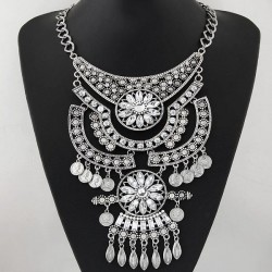 collier strass fashion