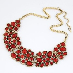 collier rouge aline