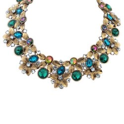 Collier mode multicolore Aiden