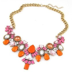 collier multicolore