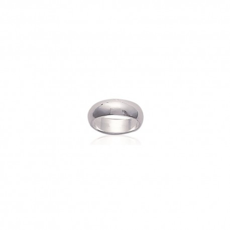 Alliance argent 6 mm