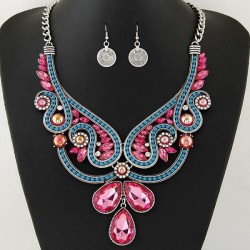 Collier multicolore fantaisie modèle Boruck
