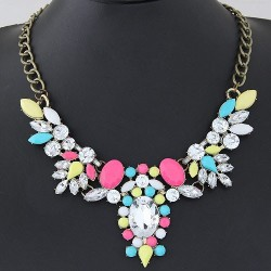 collier multicolore fantaisie modèle Borris
