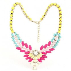 collier multicolore Aime