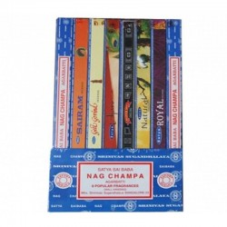 Collection d' encens Satya Nag Champa modèle Bartoke