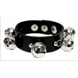 Bracelet boules rivets cloches
