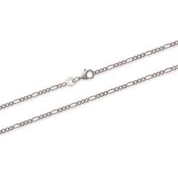 chaine argent maille figaro 1-3 1.8 mm Alanis