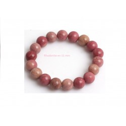 Bracelet rhodonite 11 mm