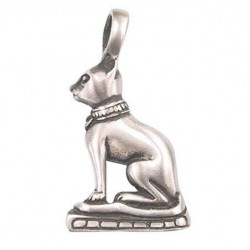 Pendentif chat egyptien