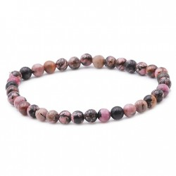 Perle pierre en rhodonite perles en 4 mm