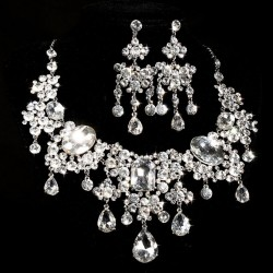 parure strass blanc andreas