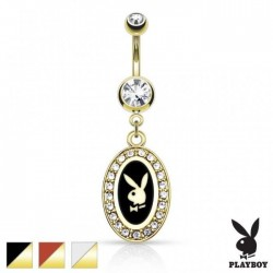 Piercing nombril Playboy Akisada