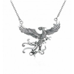 Pendentif cosplay phœnix inspiration Harry Potter