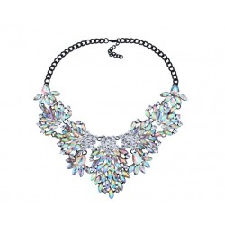 Collier strass Barbara