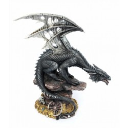 Figurine dragon steampunk