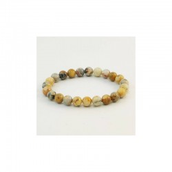 Bracelet crazy agate en 6 mm