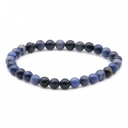 Bracelet pierre Dumortierite en 6 mm