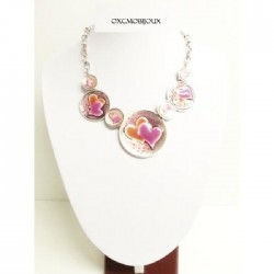 Collier rose adelstan