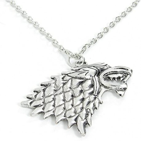 Pendentif loup cosplay Game of Thrône