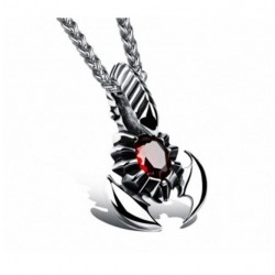 Collier scorpion acier mode Adden