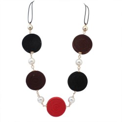 collier multicolore mode Abram