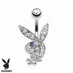 Piercing nombril Playboy plaqué or Alek