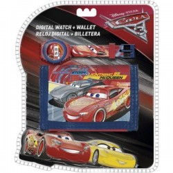 montre enfant Cars disney flash mac queen plus portefeuille modèle Bendd